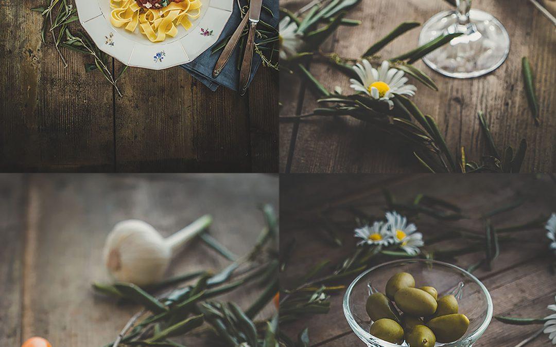 Foodshooting Pasta und Sugo